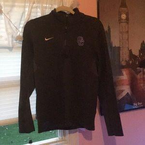Nike Slate Gray Dri-Fit Workout Jacket
